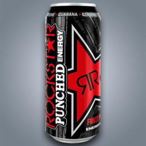 Rockstar Punched Energy, bevanda energetica gusto frutta