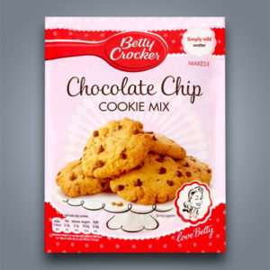 Betty Crocker preparato per cookies con gocce di cioccolato