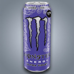 Monster Ultra Violet energy drink