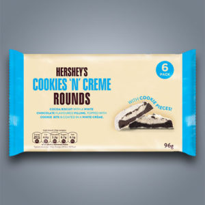 Biscotti Hershey's Cookies 'n' Creme Rounds