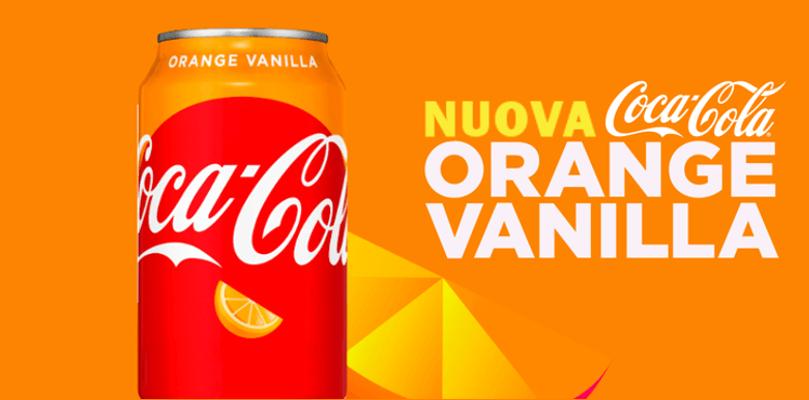 Nuova Coca Cola Orange Vanilla