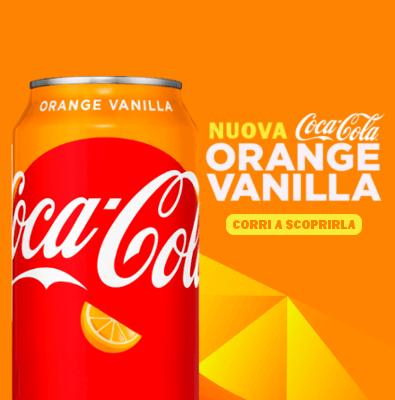Coca Cola Orange Vanilla, la nuova Coca Cola americana